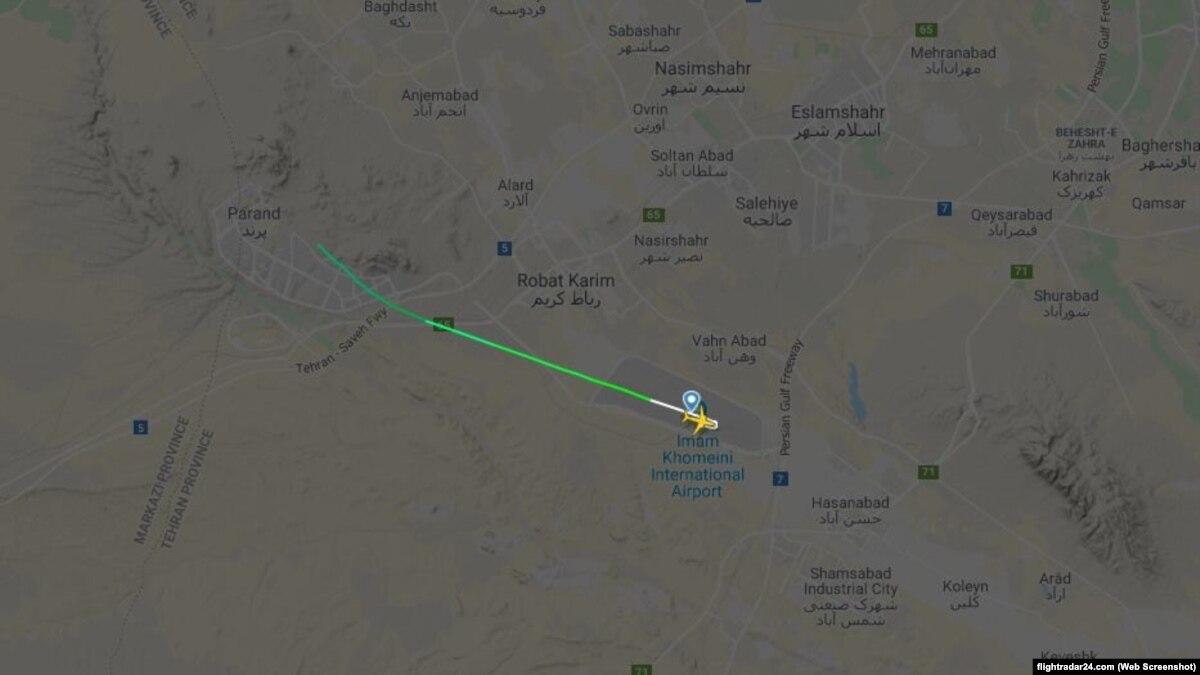 На месте аварии украинского «Боинга» работает следственная группа – представитель гражданской авиации Ирана