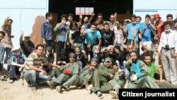 امدادگران داوطلب در مناطق زلزلهزده آذربایجان شرقی