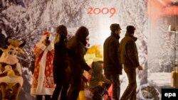 Рождество мерекесі қарсаңындағы Кишинев. (Көрнекі сурет)