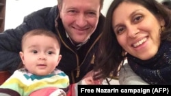 Husband Of Jailed Iranian-British Aid Worker Sees 'Positive Steps'