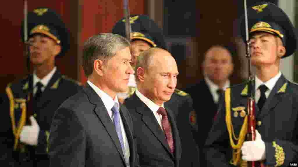 Визит президента РФ в Кыргызстан