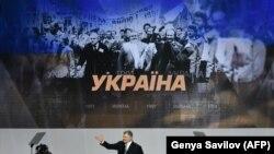 Petro Porošenko na skupu u Kijevu