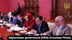 اعضای سابق کمیسیون مستقل انتخابات افغانستان که از سوی محکمه محکوم به مجازات شدند.