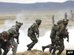 Azərbaycan-ABŞ hərbi təlimləri, 24 aprel 2009