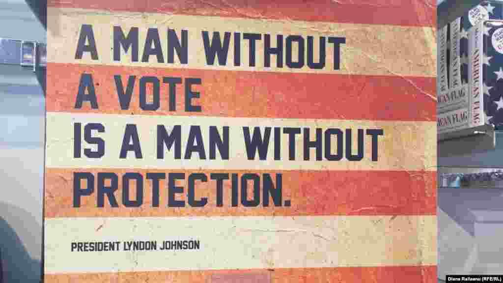 """""""Un om fără vot e un om fără protecție."""
