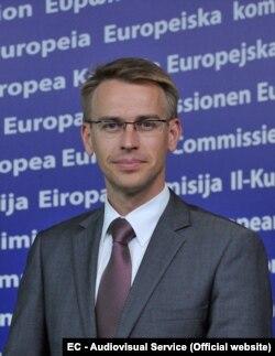 Петер Стано, спикер Еврокомиссии по вопросам иностранных дел и политики безопасности