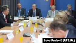 Sa sjednice Odbora za antikorupciju, Podgorica, 29. juli 2015