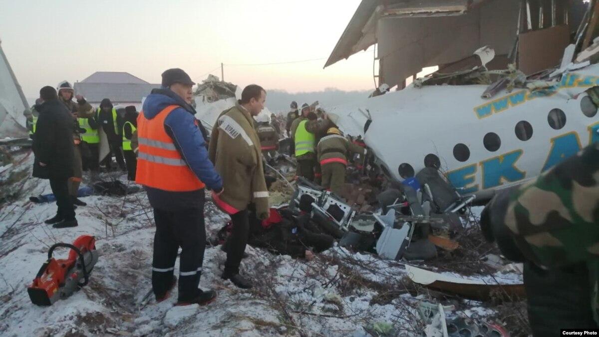 Авиакатастрофа в Казахстане: число погибших возросло до 15, 66 человек в больнице