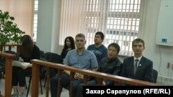 Сергей Беспалов в зале суда