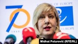 Եվրախորհրդի մարդու իրավունքների հանձնակատար Դունյա Միյատովիչ, արխիվ