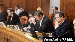 Francuska je bila dužna da postupi po našem zahtevu i molbi za izručenje Haradinaja: Nela Kuburović, ministarka (na slici: sednica Vlade Srbije, Beograd)