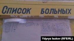 Ооруканага түшкөн оорулуулардын тизмесинде Салиев деген да адам бар.