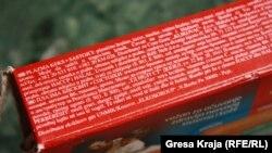 """Produkte serbe me përshkrimin """"Kosovo/UNMIK"""""""