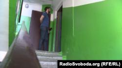 Журналіст Радіо Свобода спілкується із вітчимом бойовика Олексія Верещагіна