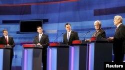 Републиканските претседателски кандидати на телевизиска дебата