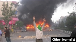 The Iranian establishment blames Musavi's 'green' movement for postelection unrest.