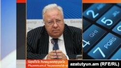 Посол Армении в Беларуси Армен Хачатрян (архив)