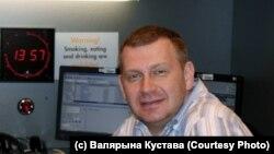 Юрась Бушлякоў у студыі Радыё Свабода