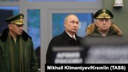 Presidenti rus, Vladimir Putin. 22 dhjetor, 2017