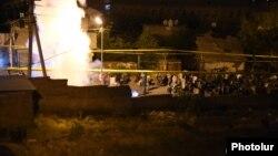 Під час розгону, Єреван, 29 липня 2016 року