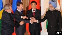 Бразилия, Русия, Кытай һәм Һиндстан җитәкчеләре Екатеринбур җыенында