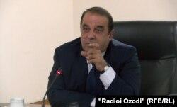 Ҷамшед Нурмуҳаммадзода, раиси Бонки миллии Тоҷикистон.