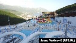 Novi akva park u Crnoj Gori, Budva, juni 2016.