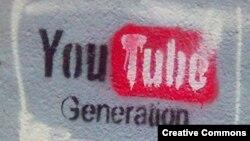 """YouTube generation"" (""YouTube буыны"" атты граффити). Көрнекі сурет"