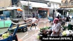 فيضان في شوارع السماوة