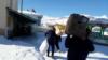Түркиядагы Ван кыргыздары Алеппого көмөк көрсөтүүдө (архив)