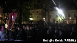 Protest je održan na Trgu Slobode u Trebinju