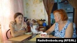 Раїса Радченко з дочкою Дариною, Запоріжжя, 27 липня 2013 року