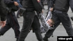 Задержания во время протестных акций в России
