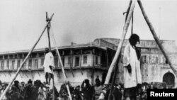 Smaknuće Jermena na trgu u Konstantinopolju za vreme Otomanskog carstva