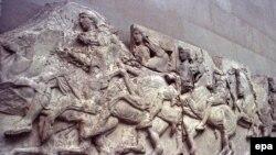 პართენონის რელიეფი ბრიტანეთის მუზეუმში