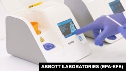 The Abbott ID NOW COVID-19 test