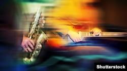 Shutterstock, jazz music generic