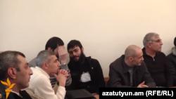 Շանթ Հարությունյանի և նրա համախոհների գործով դատական նիստ, 2-ը փետրվարի, 2015թ․