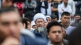KYRGYZSTAN--EID PRAYER-BISHKEK-JUNE-2018