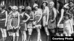 О конкурсе красоты - 1908 и теории моды