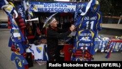 Zenica uoči utakmice protiv Bjelorusije, 6. septembar 2011. Fotografije uz tekst: Selma Boračić