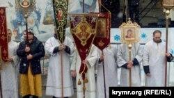 Рождественский крестный ход, Севастополь, 7 января 2019 года