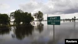 Поплавена улица во Австралија