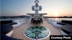 Путиндин яхтасы