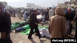 Шииттердин майрамындагы теракт. Кабул. 2011-жыл.