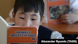 Школа в селе Cунтар, Якутия