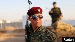 """Бойцы отрядов пешмерга, что переводится как """"глядящие в лицо смерти"""""""
