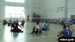Ресей паралимпиада құрамасының ойыншылары (Көрнекі сурет).