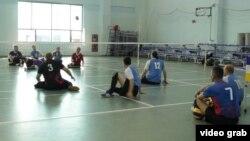 Российские паралимпийцы на тренировке