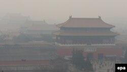 Onečišćenje zraka, Peking, arhivska fotografija